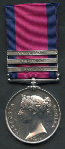 Military General Service Medal with clasp for the Storming of Badajoz on 6th April 1812 in the Peninsular War: awarded to Private J. Jeane of 4th King's Own Regiment