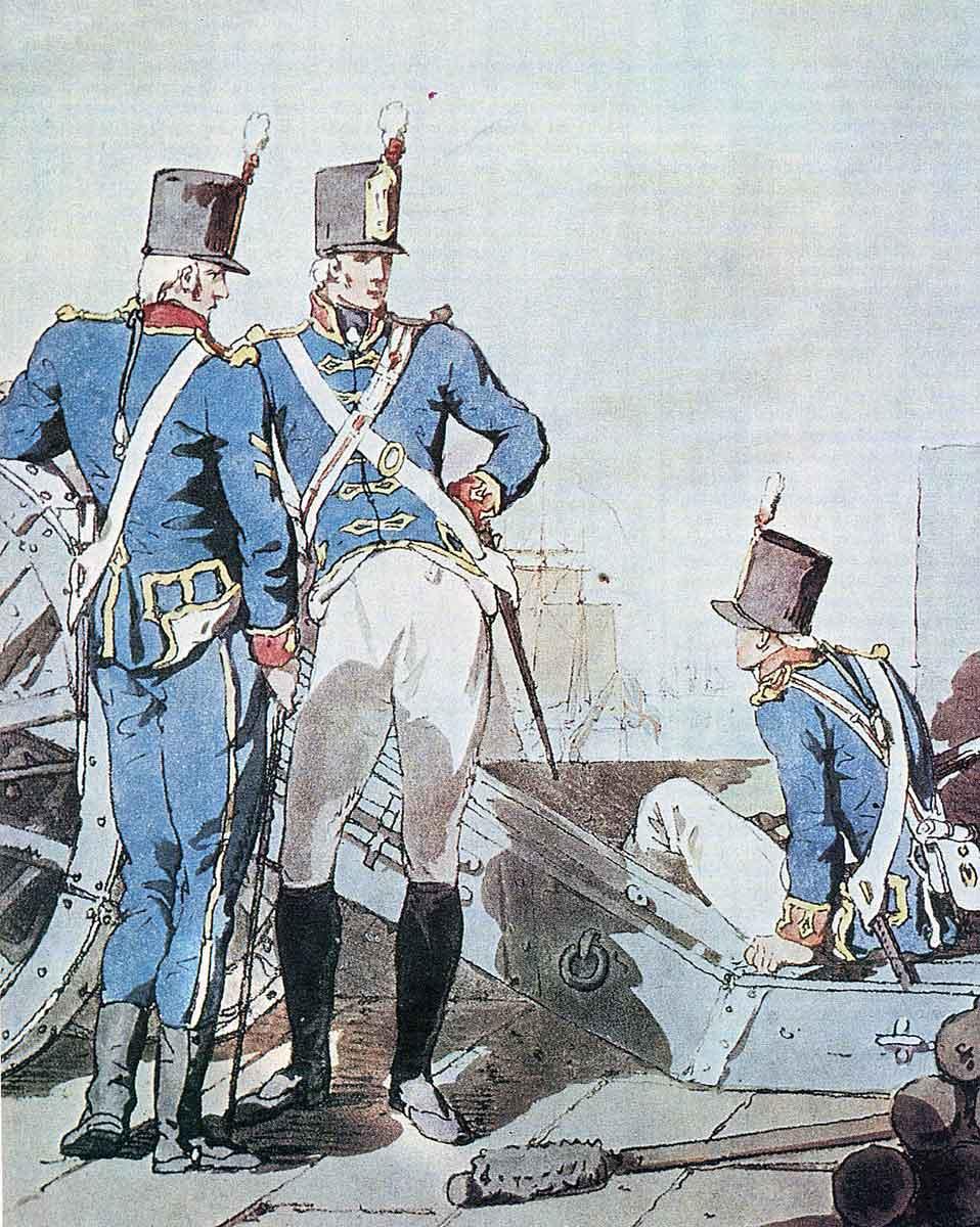 Royal Artillery: Storming of Ciudad Rodrigo on 19th January 1812 in the Peninsular War