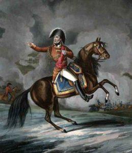 Lord Wellington: Storming of Ciudad Rodrigo on 19th January 1812 in the Peninsular War