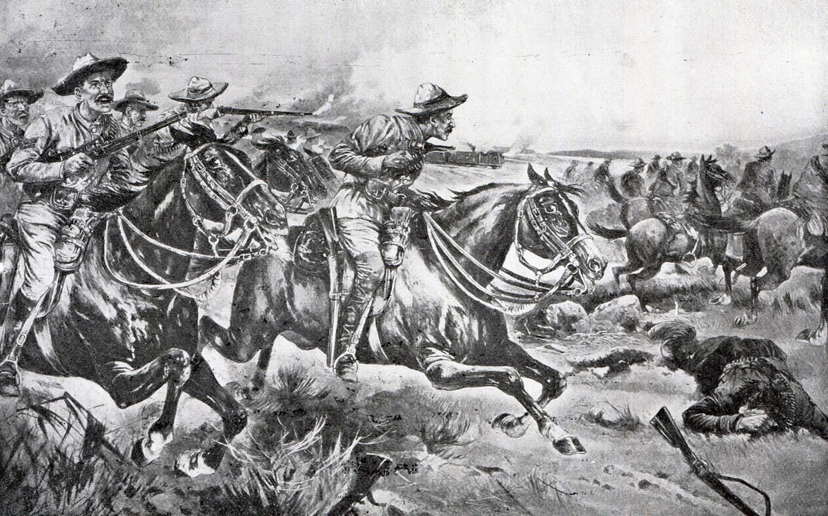 Attack on Game Tree Fort: Siege of Mafeking 14th October 1899 to 16th May 1900 in the Great Boer War: picture by Frank Feller