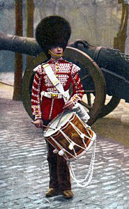Scots Guards drummer: Battle of Modder River on 28th November 1899 in the Boer War