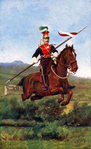 5th Royal Irish Lancers: Battle of Ladysmith or Lombard's Nek on 30th October 1899 in the Boer War