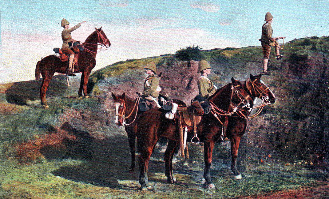 13th Hussars in South Africa: Battle of Spion Kop on 24th January 1900 in the Boer War
