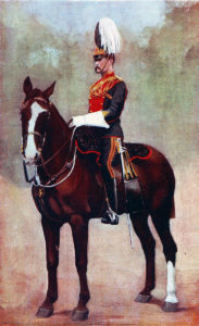 Officer of the 9th Lancers, the sole British cavalry regiment at the Battle of Belmont 23rd November 1899 in the Great Boer War