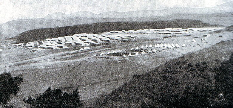 British Army Camp at Ladysmith October 1899 in the Boer War