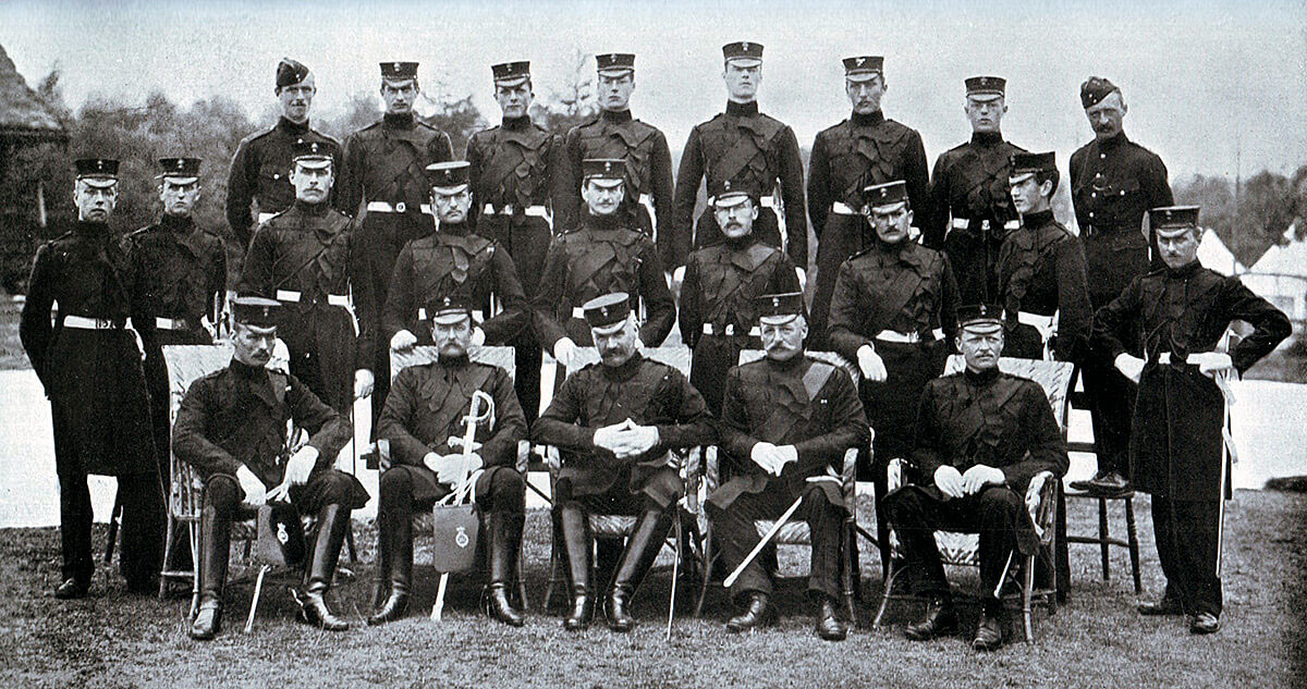 Officers of the 3rd Grenadier Guards: Battle of Belmont 23rd November 1899 in the Great Boer War