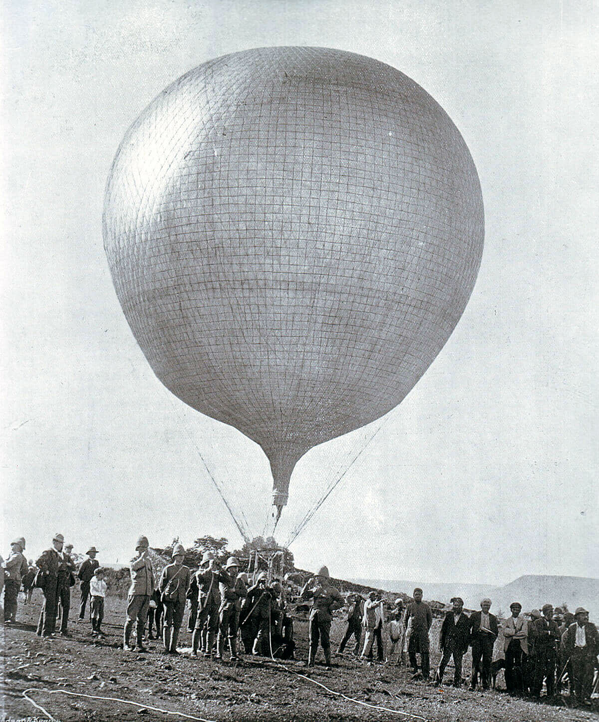 Royal Engineers' Balloon in Ladysmith 1899 to 1900 in the Boer War