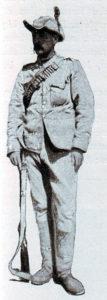 Sergeant Cunningham of Rimington's Scouts: Battle of Belmont on 23rd November 1899 in the Great Boer War