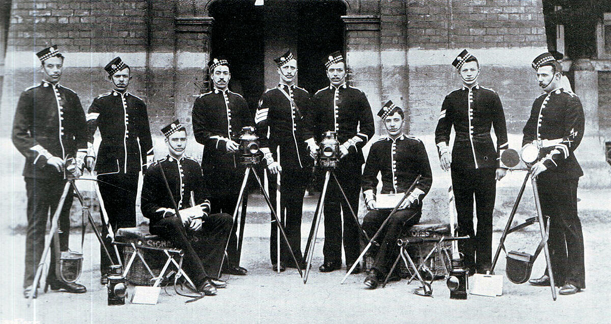 Signallers of 1st Scots Guards: Battle of Belmont 23rd November 1899 in the Great Boer War