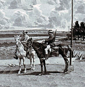 Boer burghers in the field during the South African War: Battle of Stormberg on 9th/10th December 1899 in the Boer War
