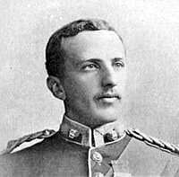 Captain Weldon of 2nd Royal Dublin Fusiliers killed at the Battle of Talana Hill on 20th October 1899 during the Boer War