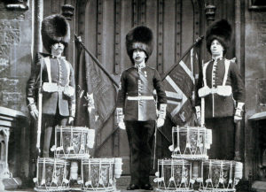 Drums and Colours of 2nd Coldstream Guards: Battles of Belmont and Graspan in November 1899 in the Boer War