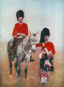 Officers of the Seaforth Highlanders: Battle of Magersfontein on 11th December 1899 in the Boer War