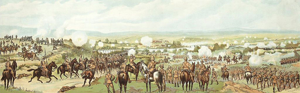 Battle of Modder River on 28th November 1899 in the Boer War