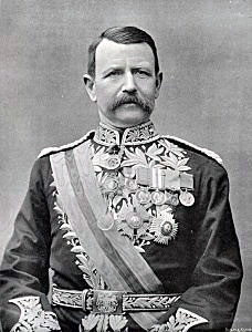 Lieutenant General Sir Charles Warren, commander of the British assault on Spion Kop: Battle of Spion Kop on 24th January 1900 in the Great Boer War