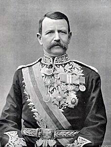 Lieutenant General Sir Charles Warren, commander of the British assault on Spion Kop:Battle of Spion Kop on 24th January 1900 in the Great Boer War