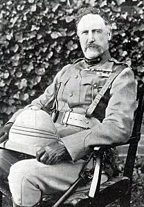 Major General Lyttelton, commander of British Fourth Brigade: Battle of Val Krantz on 5th February 1900 in the Great Boer War
