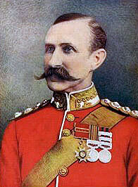 General Sir W Penn Symons, British commander at Talana Hill on 20th October 1899 during the Boer War, fatally wounded in the battle