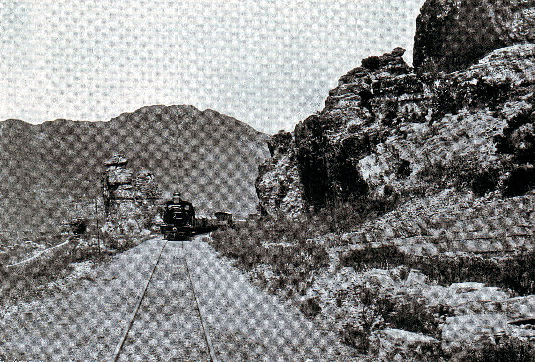 Railway line leading into Stormberg, scene of the Battle of Stormberg on 9th/10th December 1899 in the Boer War