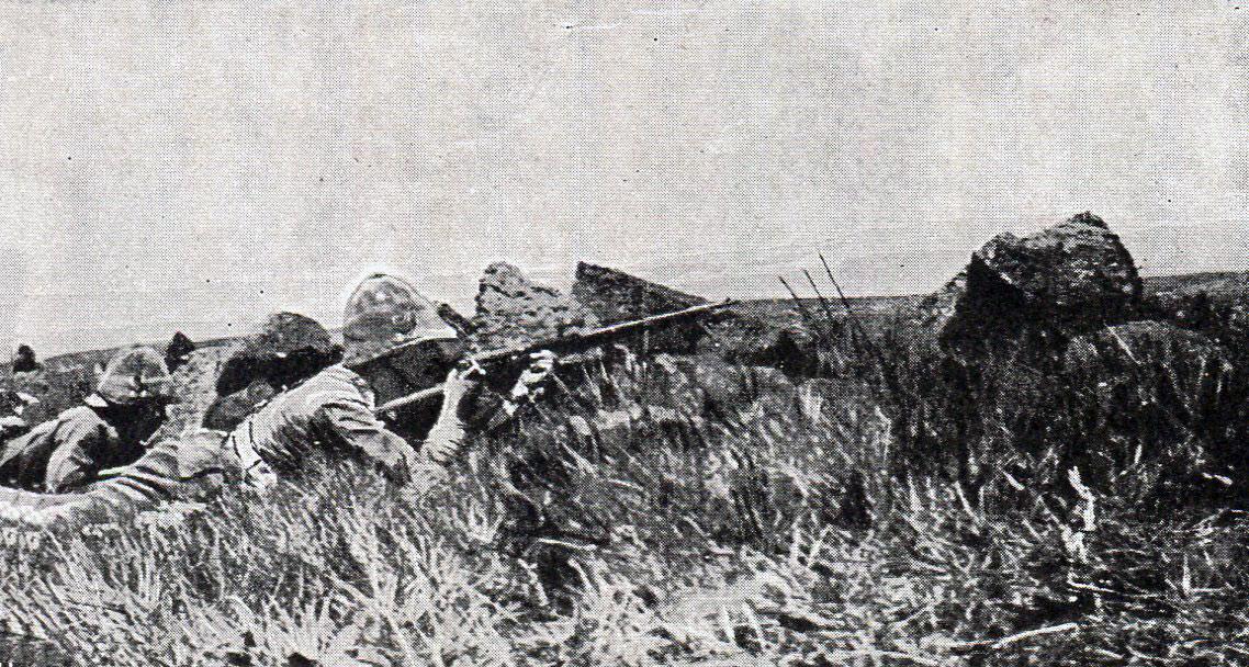 West Yorkshires on Val Krantz: Battle of Val Krantz 5th February 1900 in the Boer War