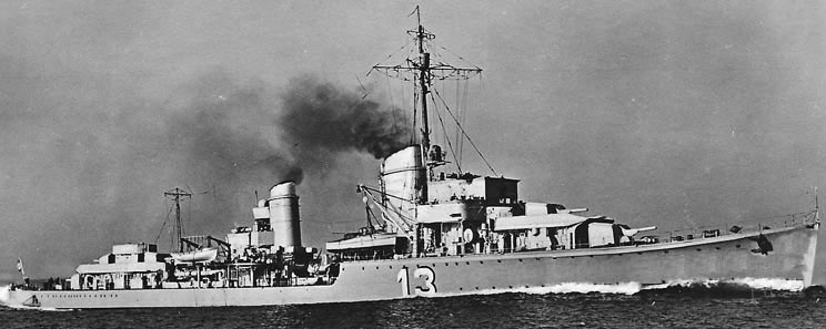 Second World War German destroyer named Georg Thiele in memory of the commander of S119 and the German 7th Half-flotilla, lost in the Texel action on 17th October 1914 in the First World War