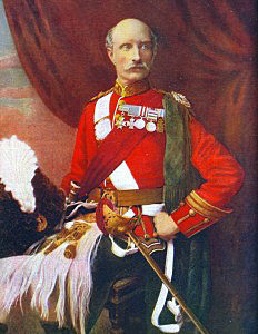 Lieutenant General Sir George White VC DSO GCB British commander-in-chief at the Battle of Ladysmith on 30th October 1899 in the Boer War