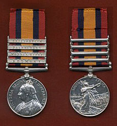 Queen's South Africa medal with the clasp 'Modder River': Battle of Modder River on 28th November 1899 in the Boer War