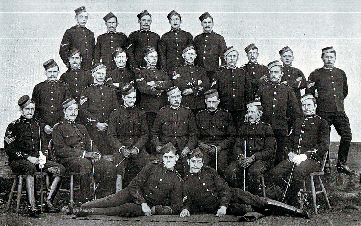 62nd Field Battery Royal Field Artillery prize winning gun teams. The Battery fought at the Battle of Modder River on 28th November 1899 in the Boer War