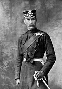 Lieutenant General Lord Methuen British commander at the Battle of Magersfontein on 11th December 1899 in the Boer War