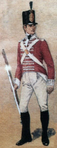 Soldier of the 43rd Light Infantry: Battle of Sabugal on 3rd April 1811 in the Peninsular War