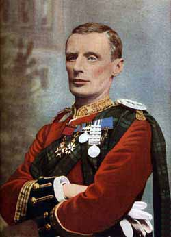 Major General Andrew Wauchope killed commanding the Highland Brigade at the Battle of Magersfontein on 11th December 1899 in the Boer War