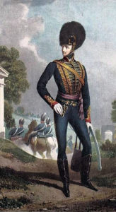 Major General John Gaspard le Marchant: Battle of Villagarcia on 11th April 1812 in the Peninsular War