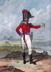 Spanish Field Officer: Battle of Albuera on 16th May 1811 in the Peninsular War