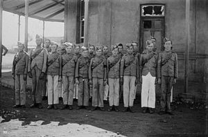 Mafeking cadet corps, precursor to the Boy Scout Movement: Siege of Mafeking 14th October 1899 to 16th May 1900 in the Great Boer War