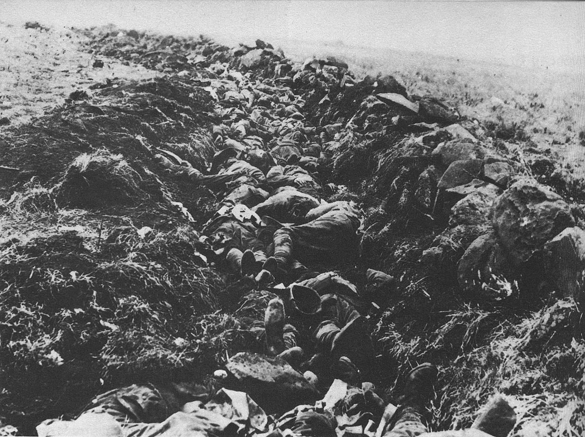 Area at the top of Spion Kop called 'Murderous Acre' after the Battle of Spion Kop on 24th January 1900 in the Great Boer War