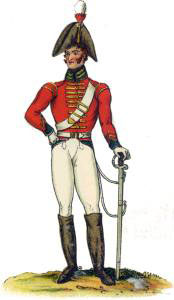 King's German Legion 1st Dragoons: Battle of Salamanca on 22nd July 1812 during the Peninsular War, also known as the Battle of Los Arapiles or Les Arapiles
