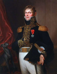 General of Division Claude François Ferey killed at the Battle of Salamanca on 22nd July 1812 during the Peninsular War, also known as the Battle of Les Arapiles