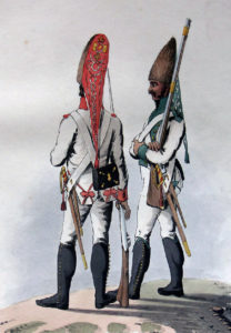 Spanish Infantry: Battle of Salamanca on 22nd July 1812 during the Peninsular War