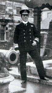 Vice Admiral Sir Frederick Doveton Sturdee RN, British commander at the Battle of the Falkland Islands 8th December 1914 in the First World War