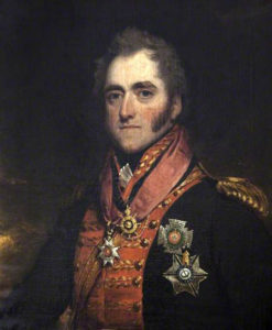 General George Anson, commander of the 2nd British Light Cavalry Brigade at the Battle of Garcia Hernandez on 23rd July 1812