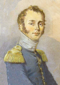Colonel Vicomte Marie-Antoine Reiset, colonel-of the French 13th Dragoons at the Battle of Majadahonda on 11th August 1812 in the Peninsular War