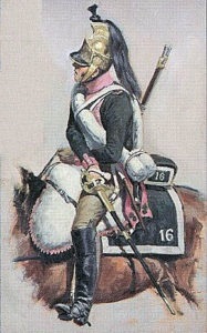Soldier of the French 16th Dragoons: Battle of Morales de Toro on 2nd June 1813