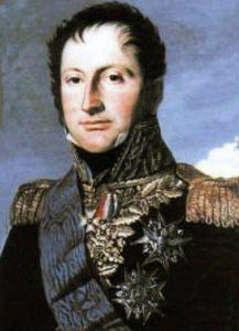 Général Reille, commander of the French 'Army of Portugal' at the Battle of San Millan and Osma on 18th June 1813 in the Peninsular War