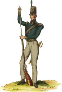 1st Light Battalion of the King's German Legion: Battle of San Millan and Osma on 18th June 1813 in the Peninsular War