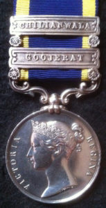 Punjab Campaign, 1848-9 Medal: Battle of Chillianwallah on 13th January 1849 during the Second Sikh War