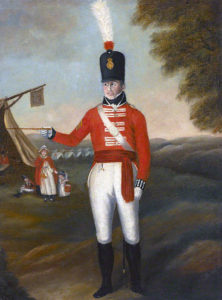 Sergeant of 2nd Queen's Regiment: Attack on Burgos Castle between 19th September and 25th October 1812 in the Peninsular War