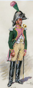 Trumpeter of the French 16th Dragoons: Battle of Morales de Toro on 2nd June 1813
