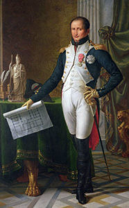 Joseph Bonaparte: Battle of Vitoria on 21st June 1813 during the Peninsular War