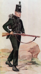 Soldier of the 95th Rifles: Battle of Vitoria on 21st June 1813 during the Peninsular War