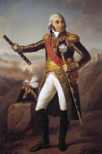 Marshal Jourdan: Battle of Vitoria on 21st June 1813 during the Peninsular War
